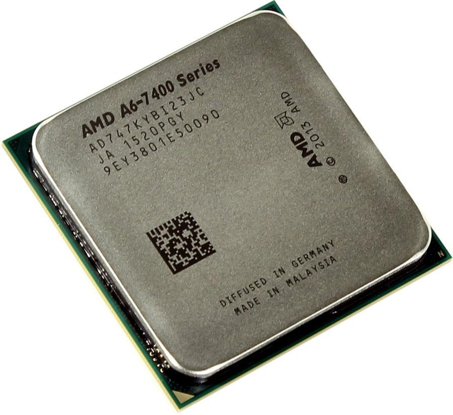 Процессор AMD A6-7470K Godavari (FM2+, L2 1024Kb), OEM AD747KYBI23JC