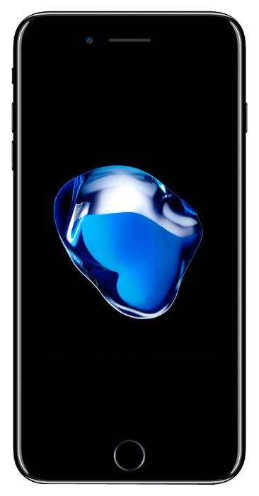 Apple iPhone 7 Plus 32Gb Black - (; GSM 900/1800/1900, 3G, 4G LTE, LTE-A, VoLTE; SIM-карт 1 (nano SIM); Apple A10 Fusion; ROM 32 Гб; 12 млн пикс., светодиодная вспышка; есть, 7 млн пикс.; датчики - освещенности, приближения, гироскоп, компас, барометр, считывание отпечатка пальца)