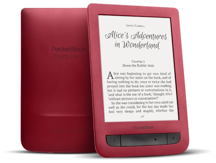 Электронная книга PocketBook 626 Plus, red