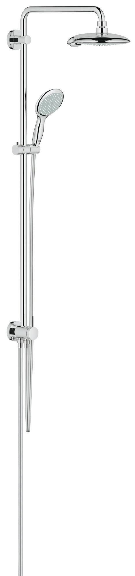 Grohe 27911000 Euphoria 190, верхний и ручной душ, без смесителя, хром (27911000)