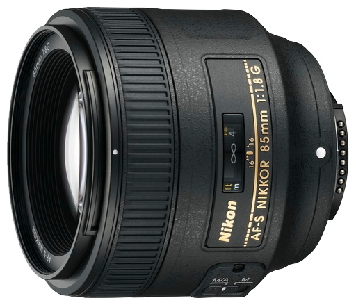 Фотообъектив Nikon 85 mm f/1.8G AF-S Nikkor JAA341DA