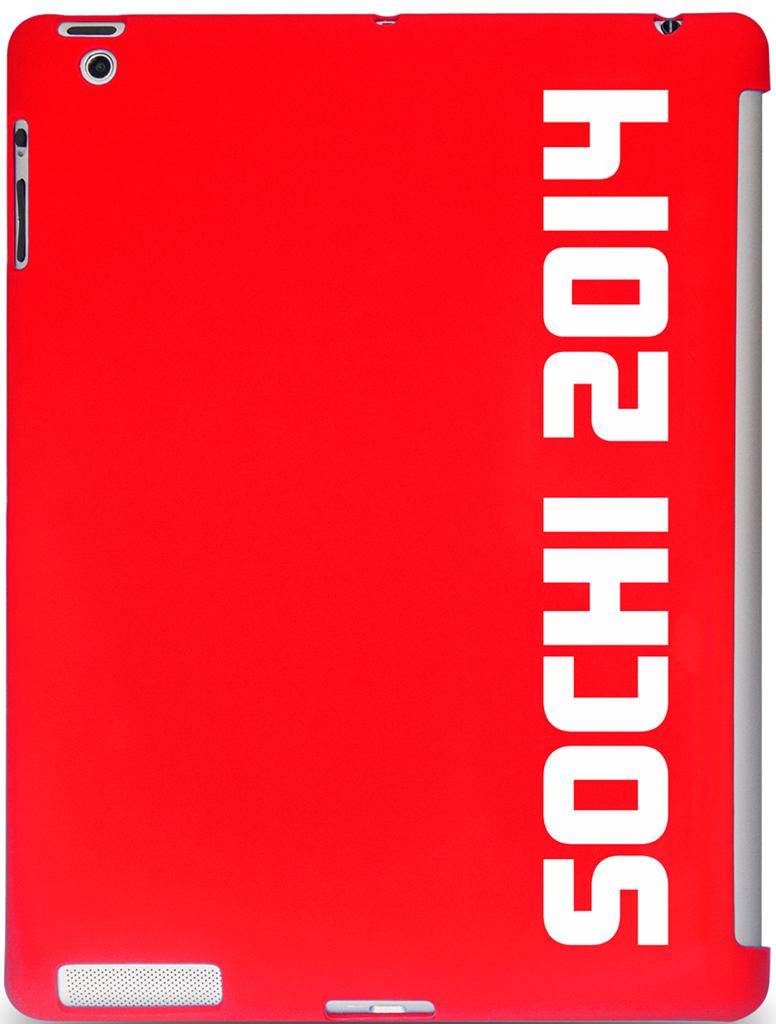 """Чехол СОЧИ2014 для Apple iPad 9.7"""" Red"""