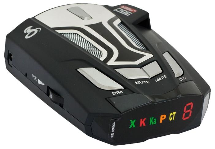 Cobra CT 5450 - (Ultra-K, Ultra-X, POP, режим Город: есть, количество уровней - 2, режим Трасса: есть, отображение информации: светодиодный дисплей)