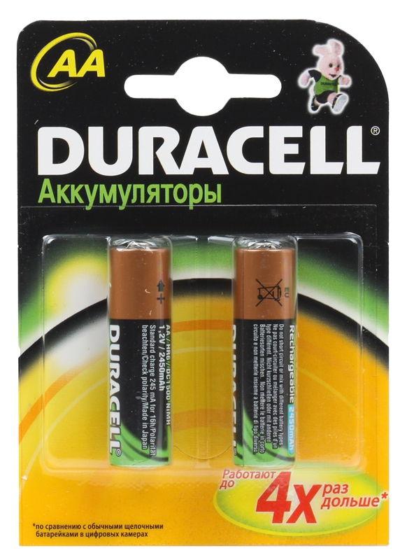 �������������� ������� Duracell HR6-2BL (AA, 1.2 �, 2450 ���)