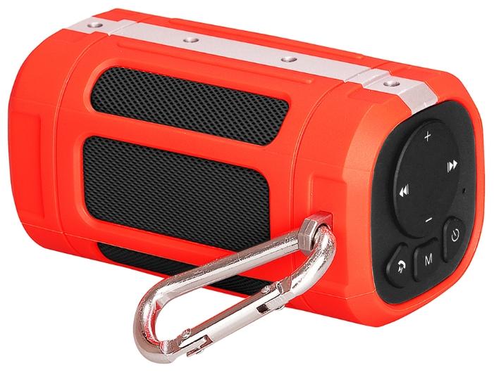 Портативная АС InterStep SBS-120, Red IS-LS-SBS120RED-000B201