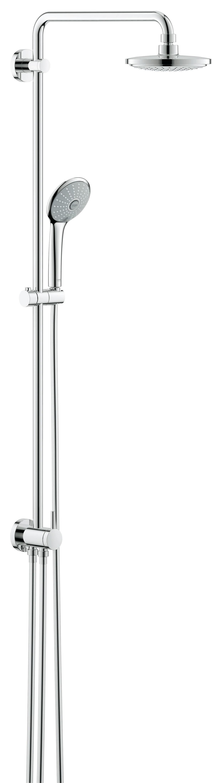Grohe 27421001 Euphoria, верхний и ручной душ, без смесителя, хром