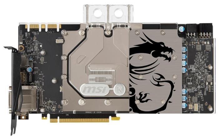 Видеокарта MSI GeForce GTX 1080 8192Mb SEA HAWK EK X GTX1080 Sea Hawk EK X