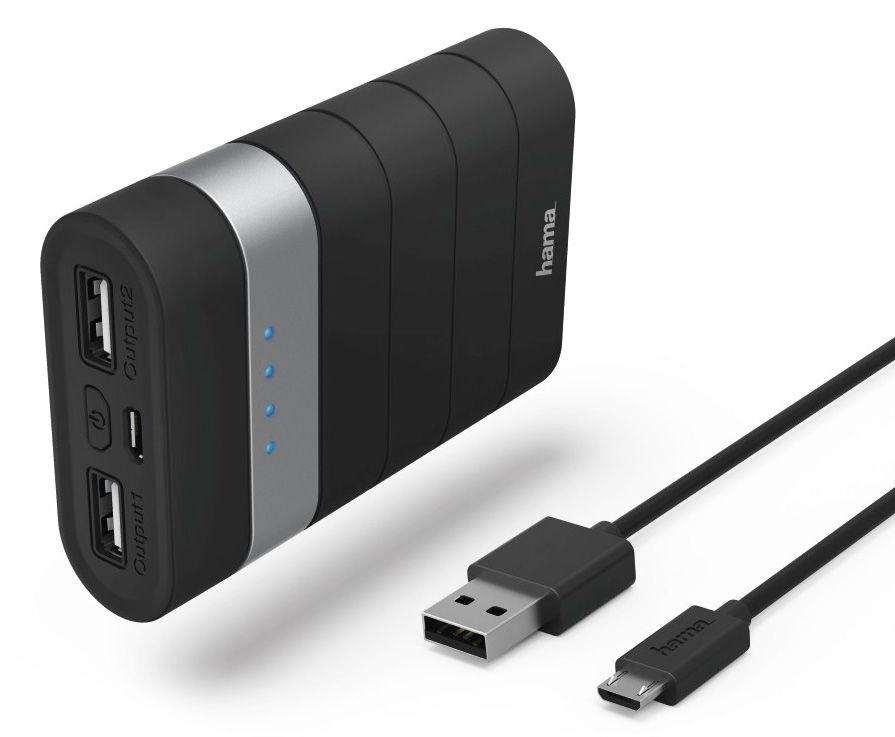 Аккумуляторная батарея Hama Joy Power Pack 7800 (7800 mAh), black