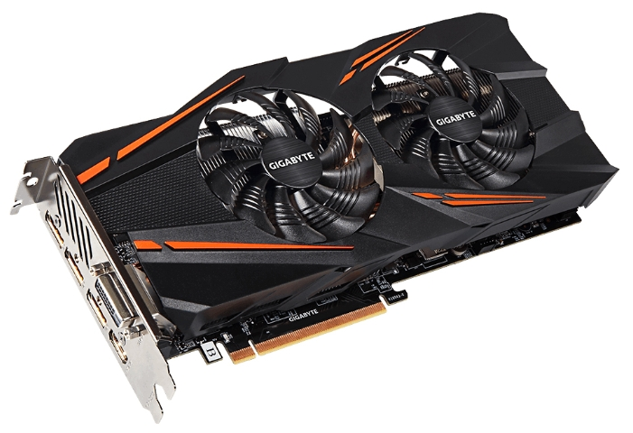 Видеокарта Gigabyte GeForce GTX 1070 1531Mhz PCI-E 3.0 8192Mb GV-N1070WF2-8GD