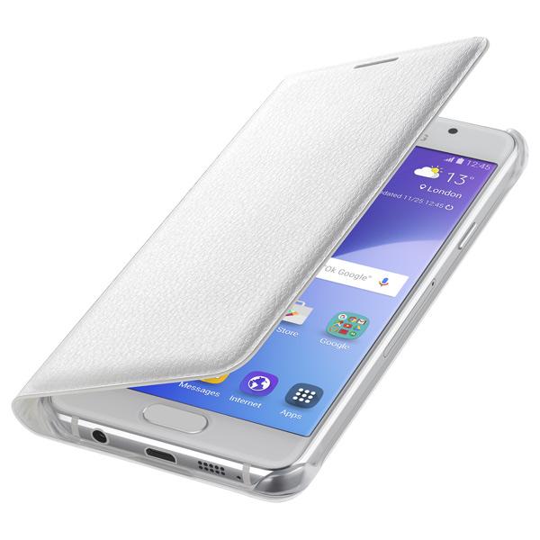 Samsung для Samsung Galaxy A3 (2016) Flip Wallet white - (Samsung Galaxy A3 (2016) ; искусственная кожа)