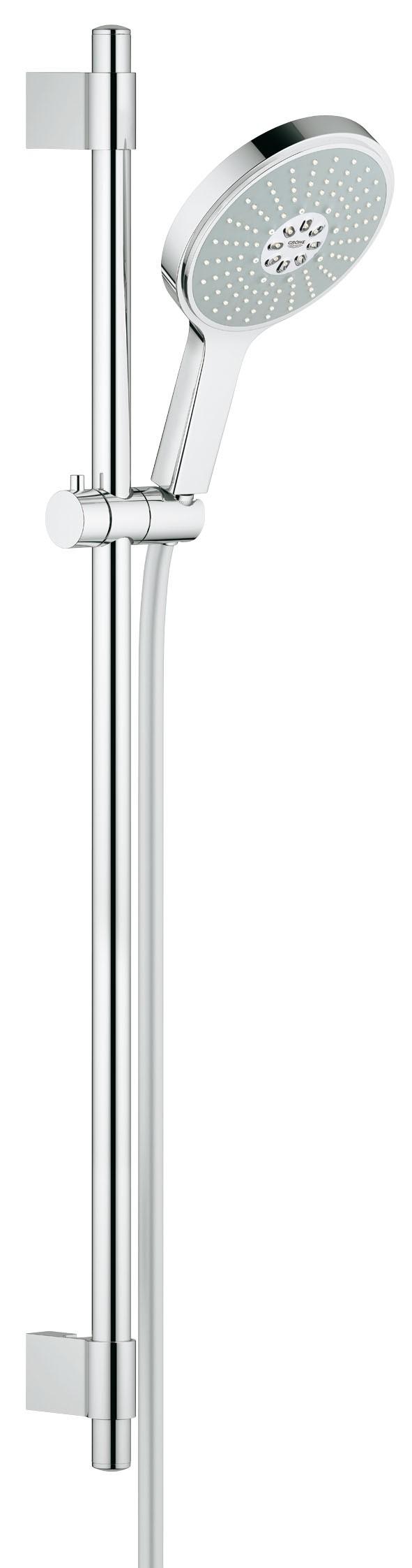 Grohe 27746000 Power&Soul Cosmopolitan 160 (ручной душ, штанга 900 мм, шланг 1750 мм) с ограничением расхода воды, хром