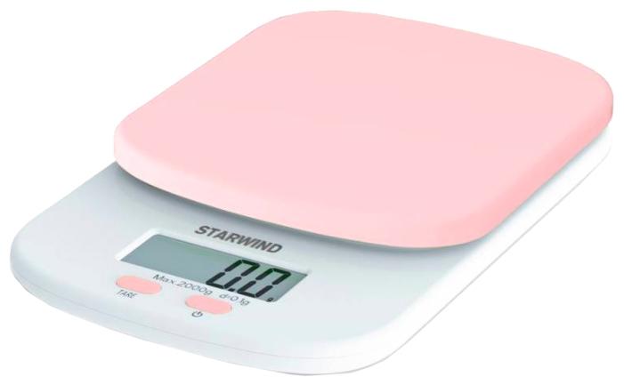 Весы кухонные StarWind SSK2157 pink SSK2157, розовый