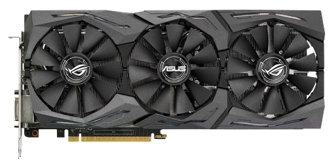 ASUS GeForce GTX 1070 (8Gb GDDR5, DVI-D + HFMI + 3xDP) - NVIDIA GeForce GTX 1070, 16 нм, 1506 МГц, boost 1683 МГц, 8192 Мб GDDR5@8008