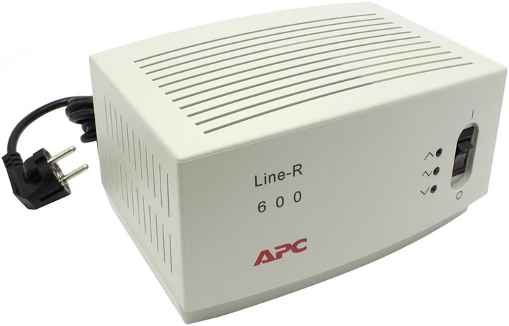 Стабилизатор напряжения APC by Schneider Electric Line-R LE600-RS