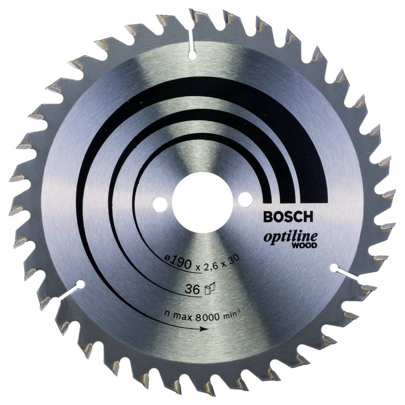 Диск отрезной Bosch 2608640616, по дереву