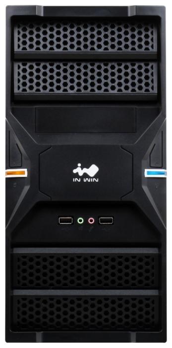 Корпус для компьютера Inwin ENR036 400W Black ENR036BL