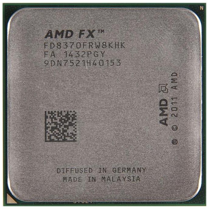 AMD FX-8370 Vishera (AM3+, L3 8192Kb), OEM - AM3+; Vishera (2012); ядер 8; 32 нм; 4000 МГц; L1 48 Кб; L2 8192 Кб; L3 8192 Кб; TDP 125