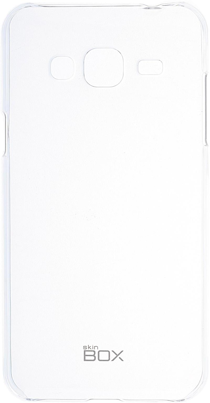 Чехол-накладка SkinBox Crystal 4People для Samsung Galaxy J3 (2016) Прозрачная