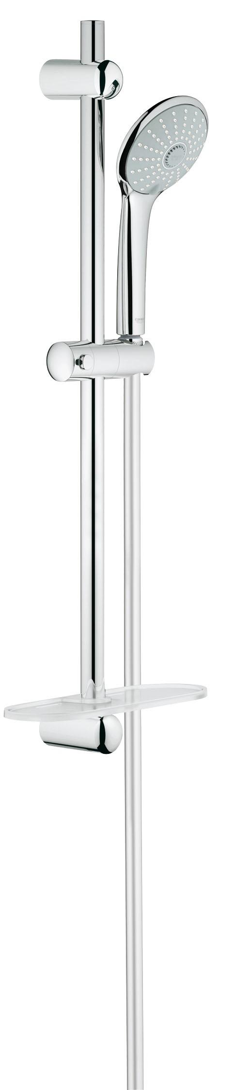 Grohe 27243001 Euphoria (ручной душ, штанга 600 мм, шланг 1500 мм), хром (27243001)
