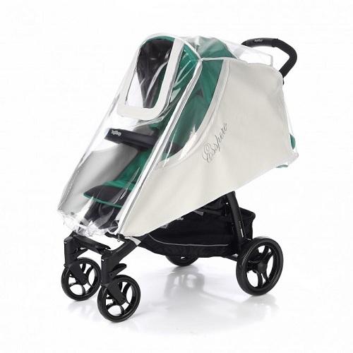 Дождевик для прогулочной коляски Esspero Cabinet Leatherette White