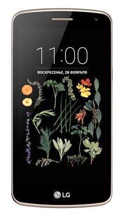Смартфон LG K5 X220ds 3G Gold