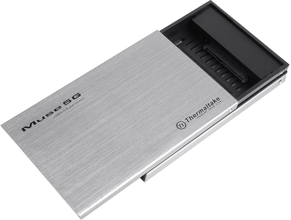 Корпус для жесткого диска Thermaltake Muse 5G, silver ST0041Z