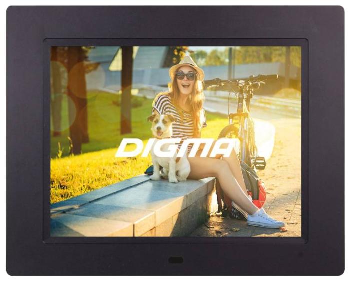 Фоторамка Digma PF-833 black PF833BK