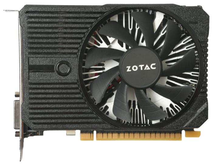 Видеокарта ZOTAC GeForce GTX 1050 Ti 1303Mhz PCI-E 3.0 4096Mb 7000Mhz 128 bit DVI HDMI HDCP Mini ZT-P10510A-10L