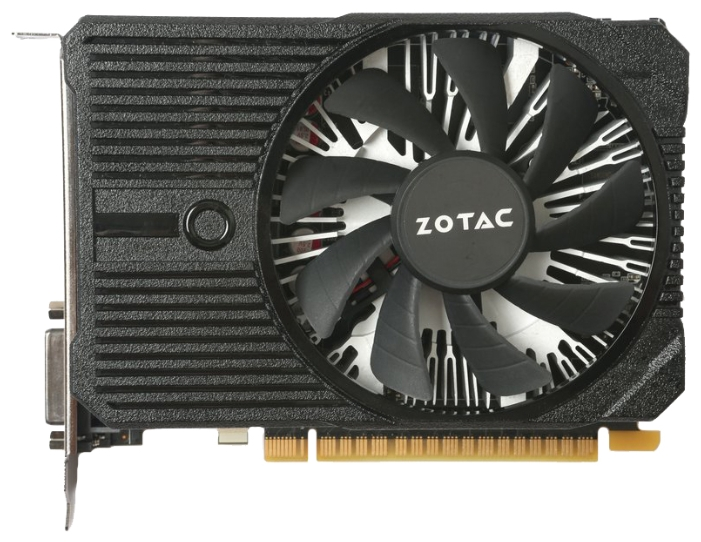 Zotac GeForce GTX 1050 Ti Mini (4Gb GDDR5, DVI-D + HDMI + DP) - NVIDIA GeForce GTX 1050 Ti, 14 нм, 1303 МГц, 4096 Мб GDDR5@7000 МГц