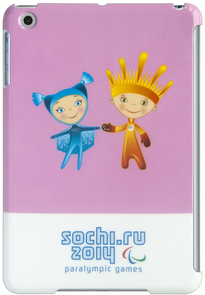 """Чехол СОЧИ2014 для Apple iPad mini 7.9"""" Pink"""