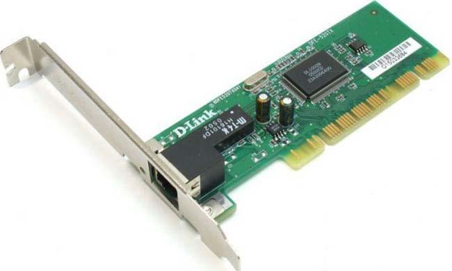 D-link DFE-520TX - PCI 2.1, 32 бит, 10/100 Мбит/с, кол-во разъемов RJ-45: 1