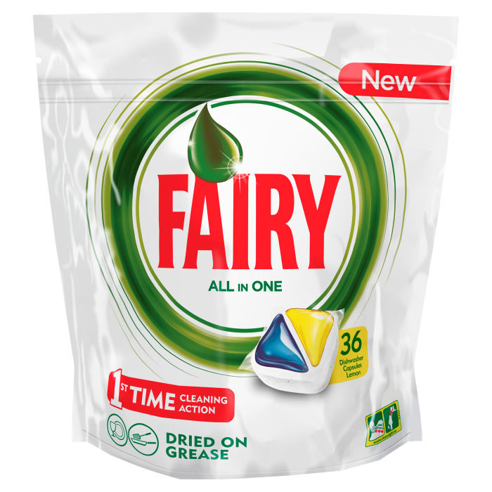 Средство для мытья посуды Fairy Original All In One Лимон 36 шт FR-81574814