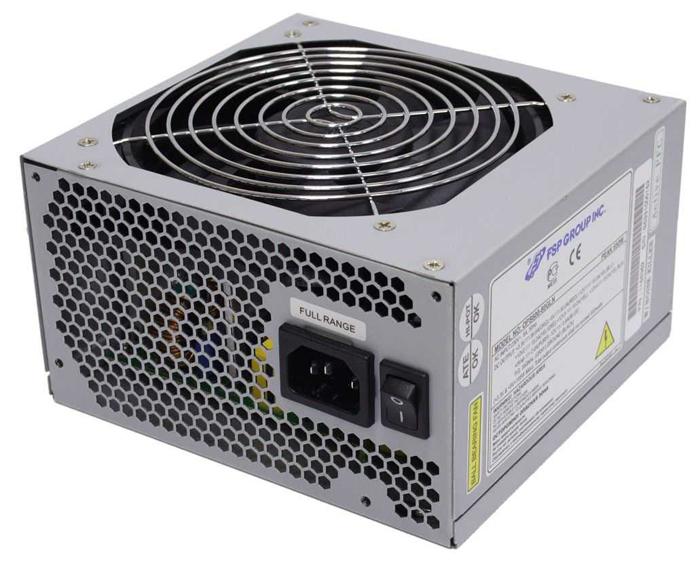 FSP Group FSP700-80GLN 700W - 700 Вт, ATX12V 2.01, 1 вентилятор (120 мм), PFC активный, линия +12В(1) - 18 A, линия +12В(2) - 18 A,