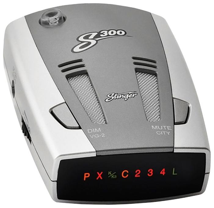Stinger S-300 - Ultra-K, Ultra-Ka, Ultra-X, POP, Instant-On, режим Город: есть, режим Трасса: есть, отображение информации: светодиодный