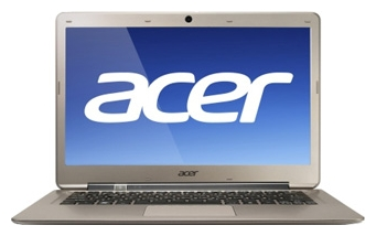 Фотография: Ноутбук Acer Aspire S3-391-53314G52add Bronze - Core i5 1700 МГц 3317U, 4096 Мб DDR3 1600 МГц, DVD нет, Intel HD Graphics 4000, Bluetooth, Wi-Fi 802.11n, 13.3 дюймов, 1366x768, широкоформатный, Win 7 Home Premium 64