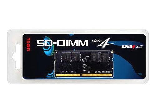 Оперативная память GeIL GS416GB2400C16SC, 1x 16Gb (DDR4 SO-DIMM, 2400MHz, CL16)
