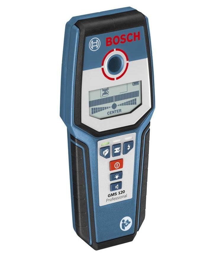 Детектор металлов и проводки Bosch GMS 120 Professional [0.601.081.000] 601081000