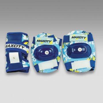 Защита роликовая MaxCity Teddy р. (S), blue