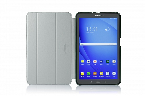 �����-������ G-case Slim Premium ��� Samsung Galaxy Tab A 10.1 T585 dark green