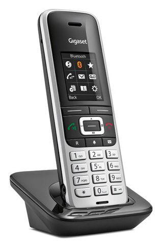 Дополнительная трубка для VoIP-телефона Gigaset S850H silver S850HX