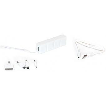 KS-IS KS-217 2600mAh white - (2600 мАч; 0.8 А; Вход - micro USB / Выход - USB • Индикатор заряда - есть.)