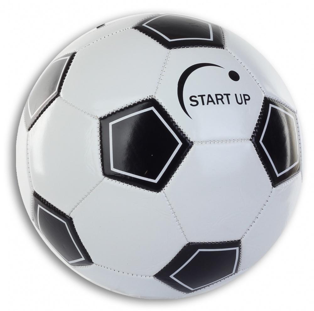 Мяч футбольный для отдыха Start Up E5122 черный/белый р5