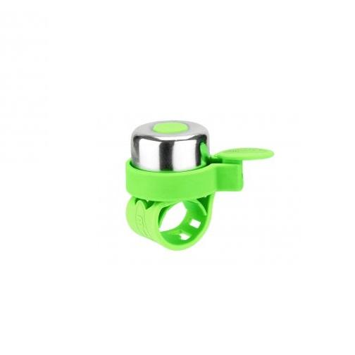 Звонок велосипедный Micro Bell, neon green