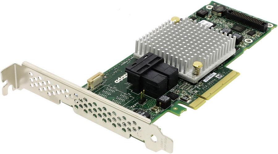 Adaptec ASR-8805 SG (OEM) - SAS / SATA RAID-контроллер (RAID 0, 1, 10, 1e, 5, 50, 6, 60, JBOD, Hybrid RAID); PCI-Express 8x rev.3.0