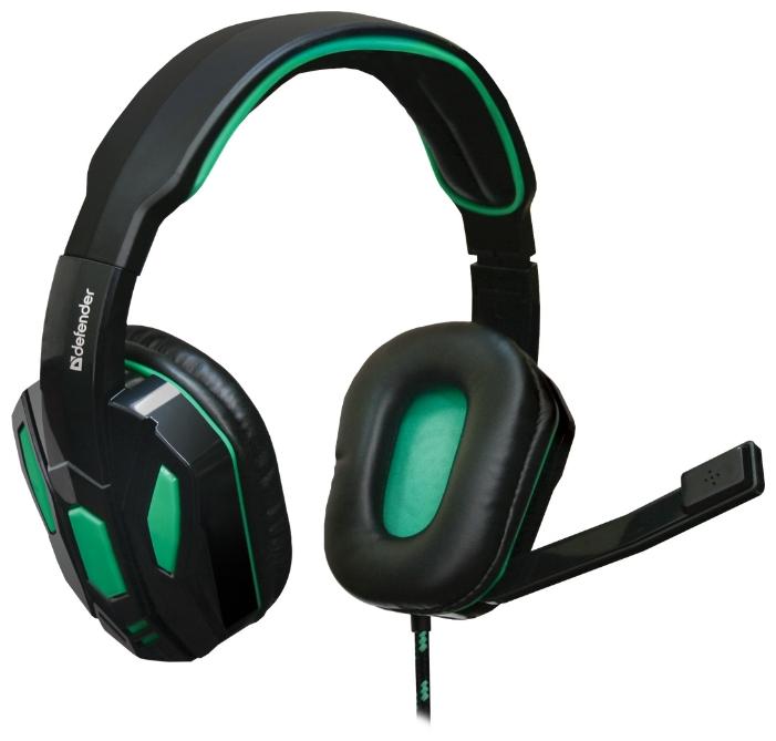 Гарнитура Defender Warhead G-275, Black green