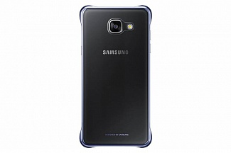 Фотография: Чехол Samsung для Samsung Galaxy A5 (2016) Clear Cover black - для Samsung Galaxy A5 (2016); поликарбонат, полиуретан; 144.9 х 70.9 х 9.6 мм