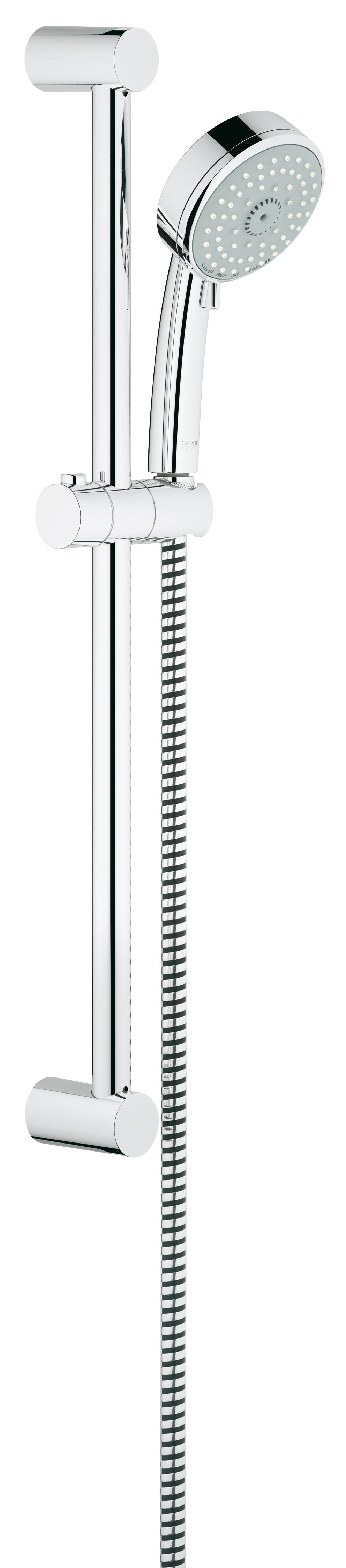 Grohe 27580001 Tempesta Cosmopolitan (ручной душ, штанга 600 мм, шланг 1750 мм), хром