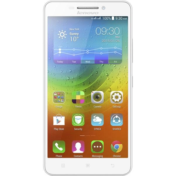 Смартфон Lenovo IdeaPhone A5000, White P0SE0010RU