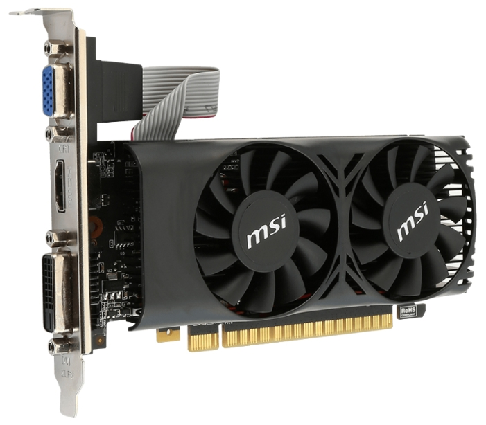 Видеокарта MSI GeForce GTX 750 Ti 2048Mb N750TI-2GD5TLP
