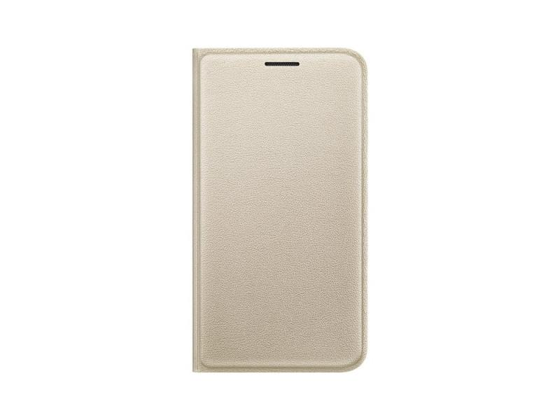 ����� Samsung ��� Samsung Galaxy J1 mini Flip Cover, golden